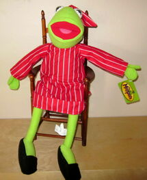 Toy factory kermit in pajamas