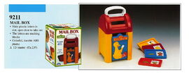 Illco 1992 preschool toys mail box