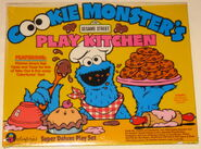 Cookie Monster's Play Kitchen