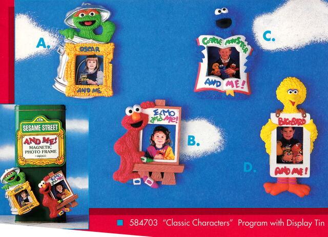 File:Enesco 1993 photo frame magnets.jpg
