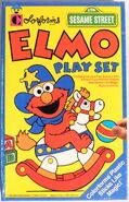 Colorforms 1992 elmo playset