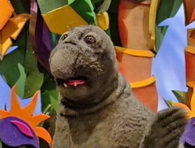 Monty the Elephant Seal