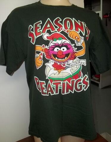 File:Animal season's beatings shirt.jpg