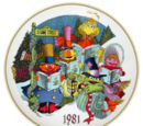Sesame Street plates (Gorham)