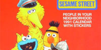 The Sesame Street People in Your Neighborhood 1991 Calendar