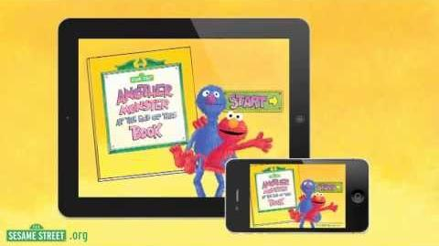 """Sesame Street """"Another Monster at the End of This Book"""" App Preview Starring Grover and Elmo!"""