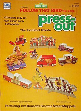 Golden1985FollowThatBirdPressOutToadstoolParade