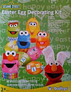 Sesame Street Easter egg kits (Dudley's)