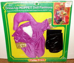 Fisher-price 1982 dress-up doll gonzo admiral fashion