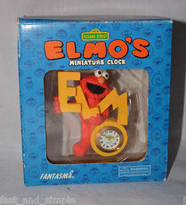 Elmos-Sesame-Street-Miniature-Clock-by-Fantasma
