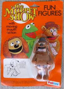 Palitoy 1977 fun figures rowlf