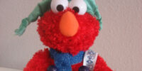 Animated Christmas Elmo