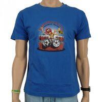 Logoshirt-Animal-UncontrollableUntamedInsane-T-Shirt-blue