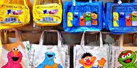 Sesame Street bags (Universal Studios Singapore)