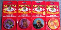 Muppet bicycle reflectors