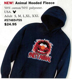 Disney catalog 2005 animal fleece