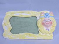 Miss Piggy picture frame