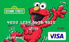 Sesame debit cards 22 elmo