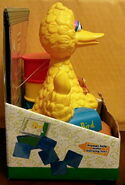 Flying colors 2000 big bird's stamp and learn 3