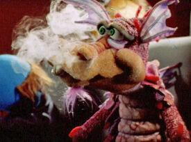 Smoking loews dragon