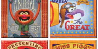 Muppet glass coasters