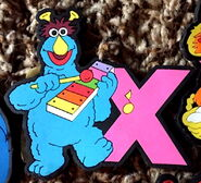Applause alphabet magnets x honker