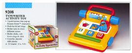 Illco 1992 baby toys activity typewriter