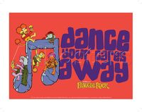 Poster Fraggle Rock-Dance Your Cares Away