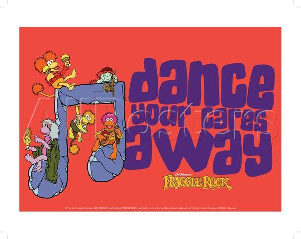 File:Poster Fraggle Rock-Dance Your Cares Away.jpg