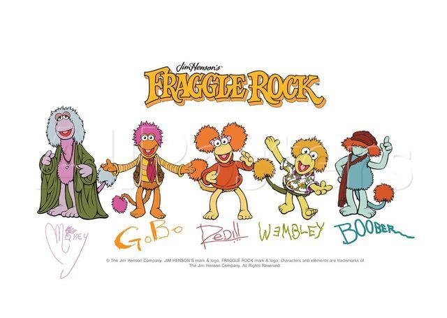 File:Poster Fraggle Rock-Fraggle Rock Signatures.jpg
