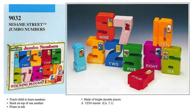 File:Illco 1992 preschool toys jumbo numbers stacking blocks.jpg