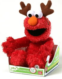 Gund 2014 singing holiday elmo
