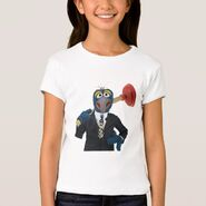 Zazzle gonzo plunger shirt