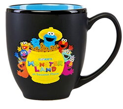 Sesame place mug monster land