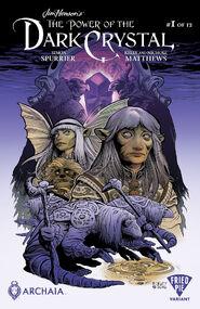 Power of the Dark Crystal 01 Ben Dewey cover