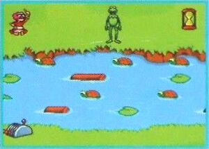 Sega Muppets on the Go Frogger