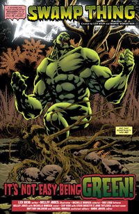 Convergenceswampthing