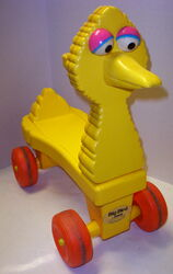 Gabriel wonder 1980 scooter big bird ride-on 1