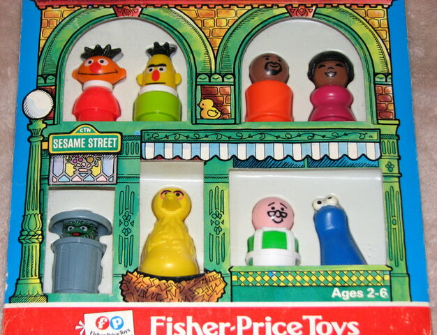 File:Fisher-price play family little people set sesame street characters 2.jpg