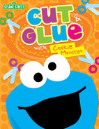 Twin sisters productions 2013 cut glue cookie monster
