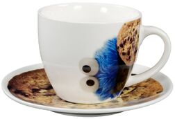 United labels 2016 cup plate cookie monster