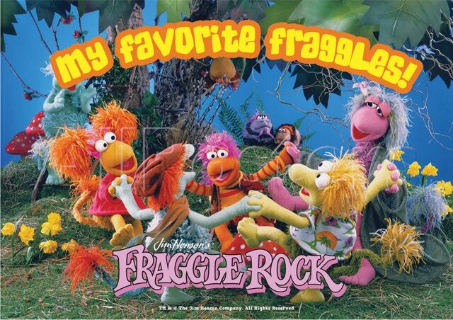 File:Poster Fraggle Rock-My Favorite Fraggles!.jpg