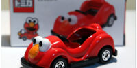 Sesame Street die-cast cars (Tomica)