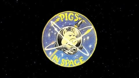 Space Shuttle Columbia Pigs in Space Audio