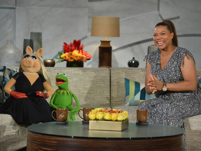 File:Kermit and Piggy on Queen Latifah March 21 2014.jpg
