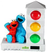 Custom quest 2014 it's about time spotlight sleep enhancing alarm clock elmo and cookie monster
