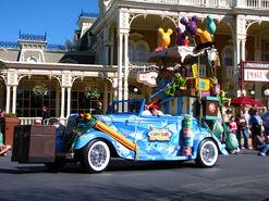 Voluntears Cavalcade car