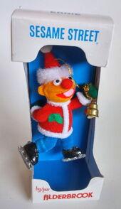 Flocked christmas ornaments 3