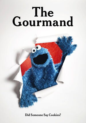 Gourmand cookie monster cover