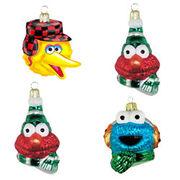 Kurt Adler glass head ornaments